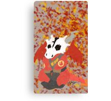 Chibi Pyro Red Canvas Print