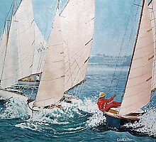Afternoon Sailing by Kate Eller