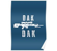 CS:GO - SCAR-20 Dak Dak Poster