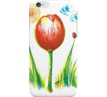Spring Tulip iPhone Case/Skin