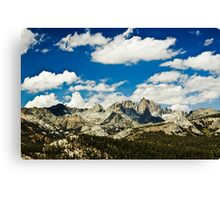 The Minarets Canvas Print