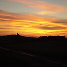 Sunset over Belle Tout Lighthouse by ChelseaBlue
