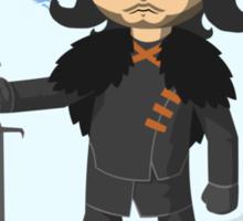 Link Does Jon Snow Cosplay Sticker