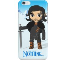 Link Does Jon Snow Cosplay iPhone Case/Skin