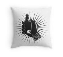 Mod Love Throw Pillow