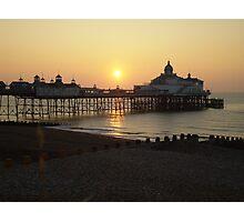 Eastbourne Pier at Sunrise Photographic Print