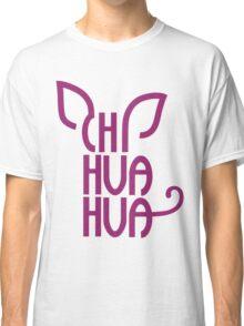 Stylish Chihuahua Brand  Classic T-Shirt