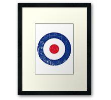Cocarde RAF UK Framed Print