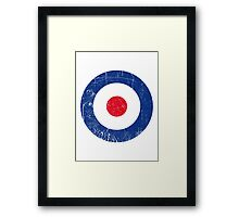 Cocarde RAF UK Framed Print