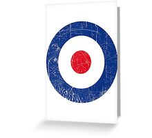 Cocarde RAF UK Greeting Card