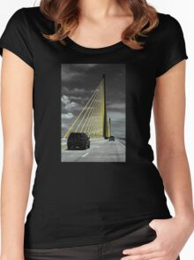 Sunshine Skyway Women's Fitted Scoop T-Shirt