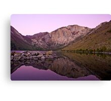 Before Dawn, Convict Lake Canvas Print