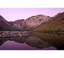 Before Dawn, Convict Lake Photographic Print