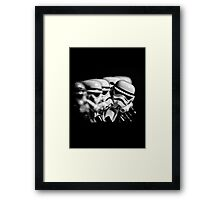 Stormtrooper distracted Framed Print