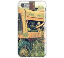 old forgotton tractor iPhone Case/Skin