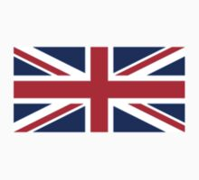 Flag of Great Britain - UK Flag Duvet Cover Sticker and Shirt by deanworld
