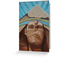 Great Sphinx of Giza  Greeting Card
