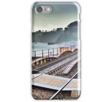 Dawlish Railway Rebuilt. iPhone Case/Skin