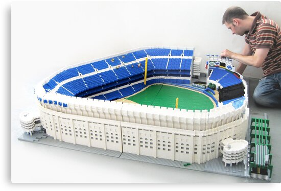 Yankee Stadium by Sean Kenney
