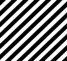 Black and White Diagonal Stripe Duvet Cover Phone Case by deanworld