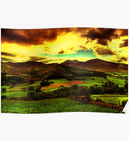 Irelands Forty Shades of Green Poster