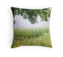 Fog In Colors Throw Pillow