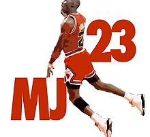 Michael Jordan 23 by crossesdesign
