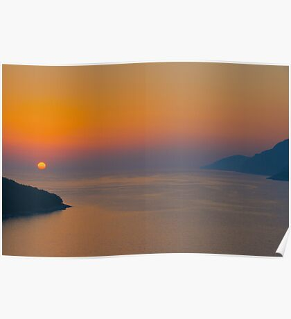 Adriatic Sunset Poster