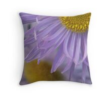 Aster 1/4 View Throw Pillow