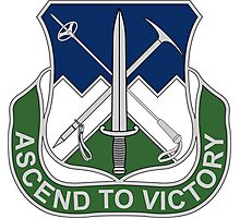172nd Infantry Regiment - Ascend To Victory Photographic Print