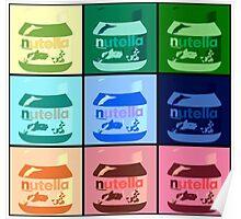 Nutella Pop Art Poster