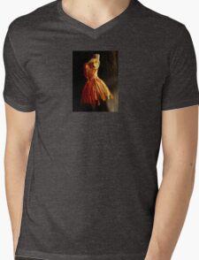 ballet figure Mens V-Neck T-Shirt