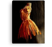 ballet figure Canvas Print