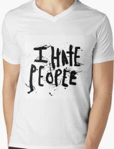 i hate people Mens V-Neck T-Shirt