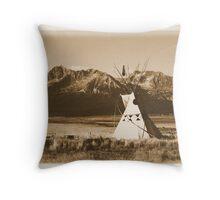 Stanley Basin Idaho Throw Pillow
