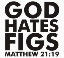 God Hates Figs Kids Clothes