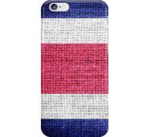 Costa Rica Flag iPhone Case/Skin