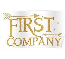 First COMPANY with arrows Poster