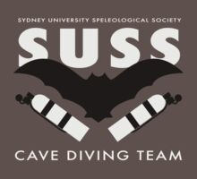SUSS Cave Diving Team by Rick Grundy