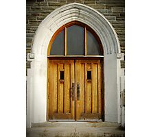 Doors of Forgiveness Photographic Print