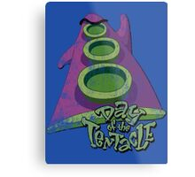 Day of the Tentacle (Distressed) Metal Print