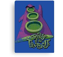 Day of the Tentacle (Distressed) Canvas Print