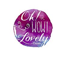 Oh! Wow! Lovely by Nxolab