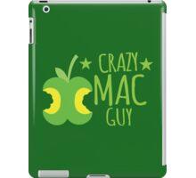 Crazy Mac guy iPad Case/Skin