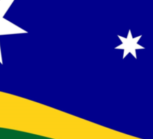 Southern Horizon flag (with URL) Sticker