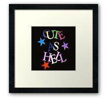 cute Framed Print