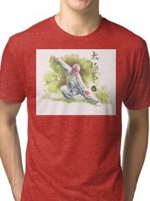 Tai Chi Chuan Tri-blend T-Shirt
