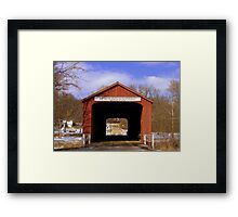Bridge to Yesteryear Framed Print
