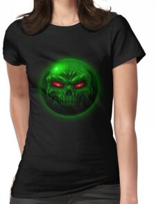 Doom Green Sphere Womens Fitted T-Shirt