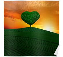 The green heart tree  Poster